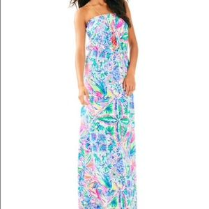 Lilly Pulitzer 'Marlisa' Strapless Maxi Dress NWT